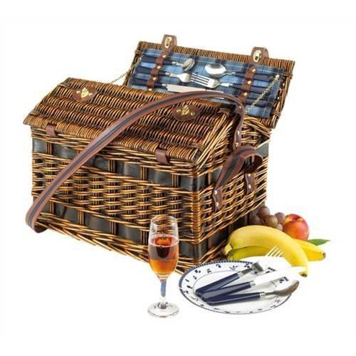 Cos pentru picnic SUMMERTIME de 4 persoane