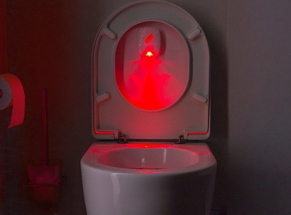 Indicator luminos cu led pentru toaleta