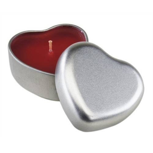 Lumanare parfumata inima
