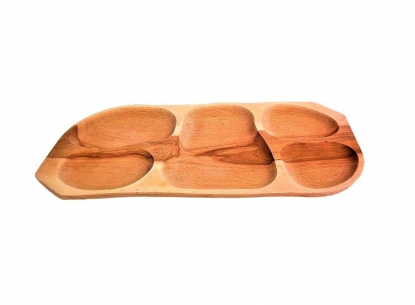 Platou lemn din stejar