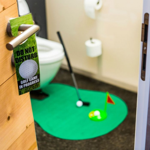 Set Golf pentru toaleta