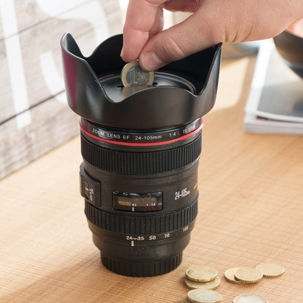 Pusculita obiectiv de aparat foto