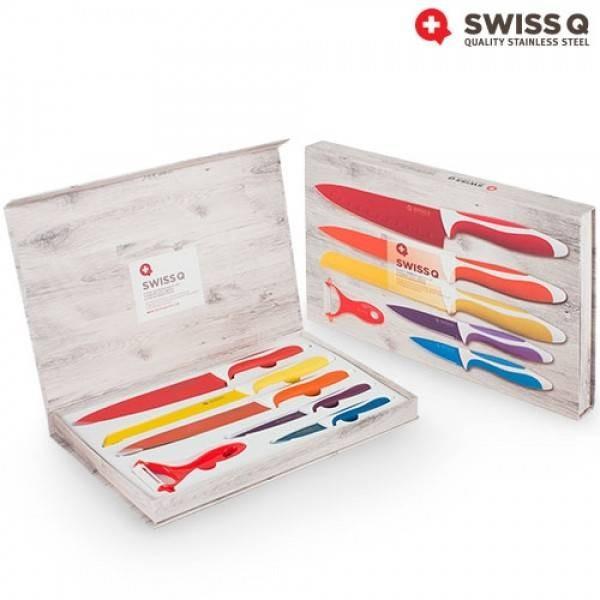 Set de 6 cutite ceramice SWISS Q