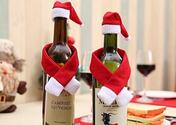 Set de Ornamente pentru sticla de Mos Craciun