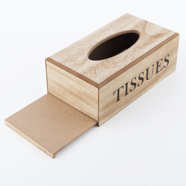 Suport din lemn pentru servetele Tissues