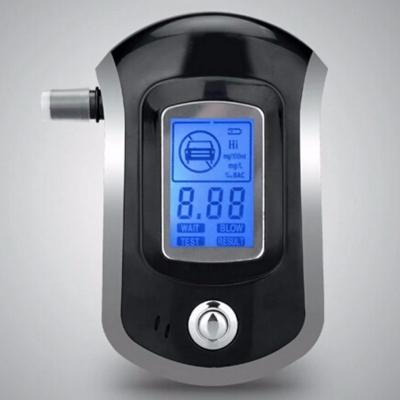 Alcooltest - Etilotest Digital Police cu ecran LCD si 5 mustiucuri