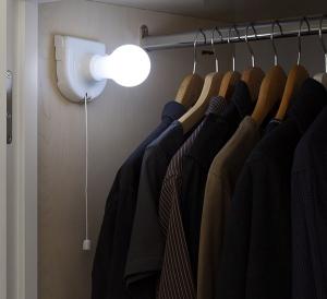 Bec LED fara fir cu sticker si intrerupator