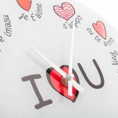 Ceas de perete I Love You