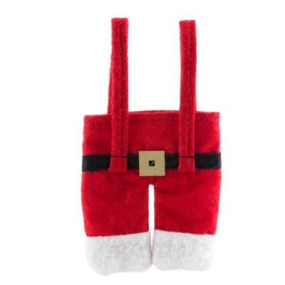 Costum de Mos Crăciun pentru tacamuri