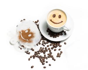 Set 16 forme pentru decorat cafeaua