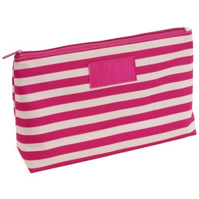 Geanta cosmetice Strips Roz