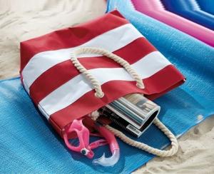 Geanta Plaja Style Rosu