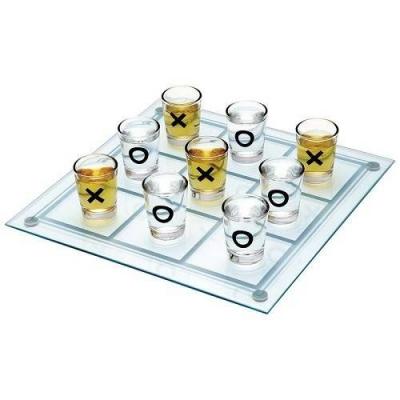 Joc de baut - X si 0 cu pahare