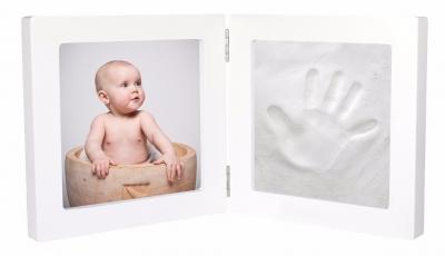 Kit amprenta mulaj bebe cu rama foto
