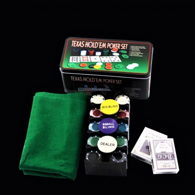 Set Poker Texas - 200 jetoane