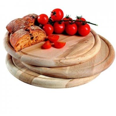 Tocator rotunde din lemn