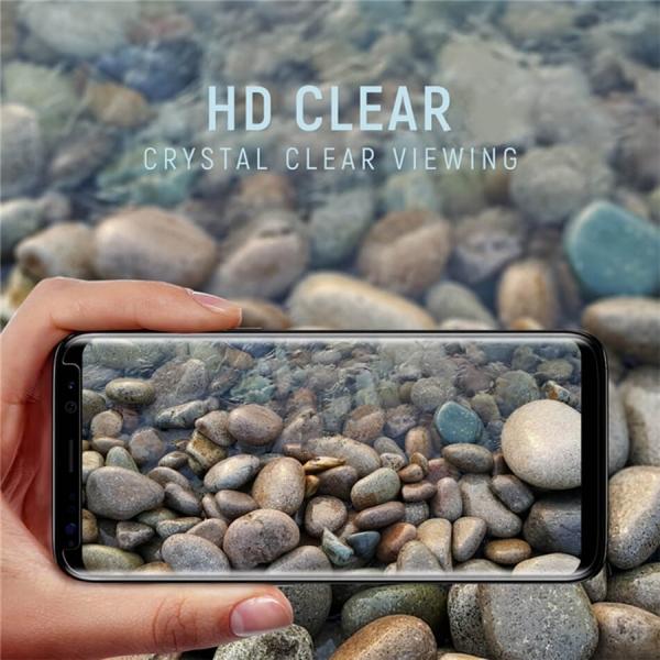 Folie sticla curbata Full Glue Samsung Galaxy Note 8, Negru
