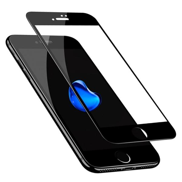 Folie sticla securizata Full Glue iPhone 8, Black