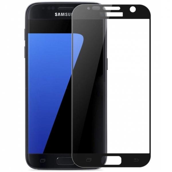 Folie sticla securizata Full Glue Samsung Galaxy S7, Black