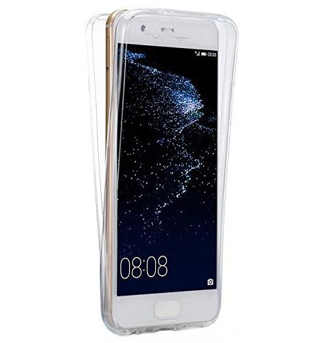 Husa Full TPU 360 (fata + spate) pentru Huawei P10 Plus, Transparent