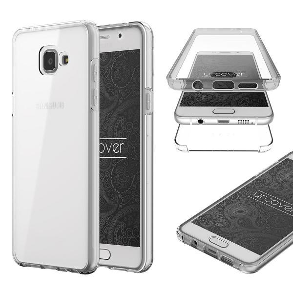 Husa Full TPU 360 (fata + spate) pentru Samsung Galaxy A5 (2016), Transparent