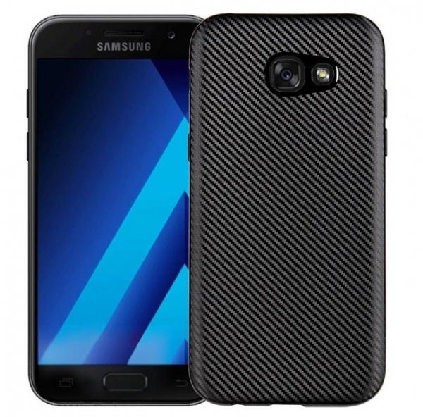 Husa Samsung Galaxy A5 (2017) i-Zore Carbon, Negru