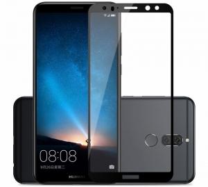 Folie sticla securizata 5D Full Glue Huawei Mate 10 Lite, Negru