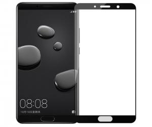 Folie sticla securizata 5D Full Glue Huawei Mate 10, Negru