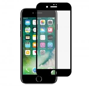 Folie sticla securizata 5D Full Glue iPhone 8, Negru