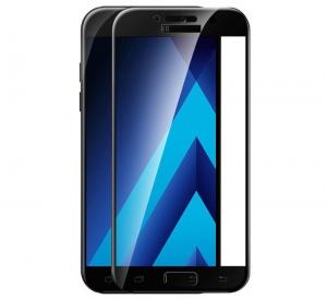 Folie sticla securizata 5D Full Glue Samsung Galaxy A5 (2017), Negru