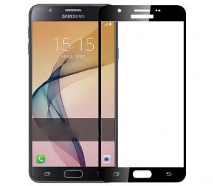 Folie sticla securizata 5D Full Glue Samsung Galaxy J7 Prime, Negru