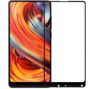 Folie sticla securizata 5D Full Glue Xiaomi Mi Mix 2, Negru
