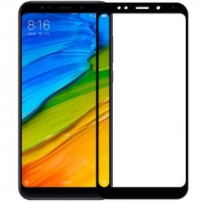 Folie sticla securizata 5D Full Glue Xiaomi Redmi 5 Plus, Negru