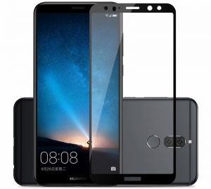 Folie sticla securizata Full Glue Huawei Mate 10 Lite, Black