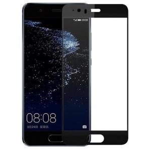 Folie sticla securizata Full Glue Huawei P10, Black