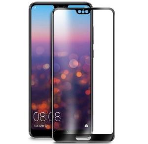 Folie sticla securizata Full Glue Huawei P20, Black