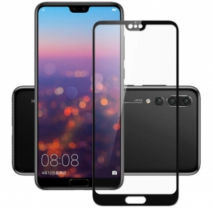 Folie sticla securizata Full Glue Huawei P20 Pro, Black