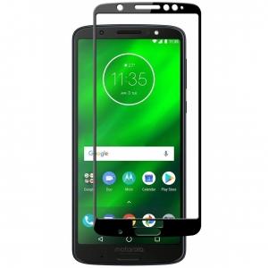 Folie sticla securizata Full Glue Motorola Moto G6 Plus, Black