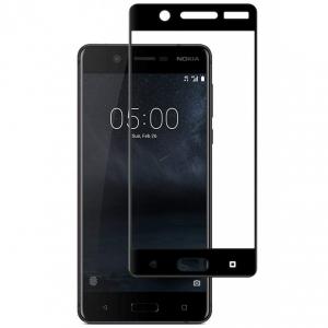 Folie sticla securizata Full Glue Nokia 5, Black