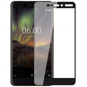 Folie sticla securizata Full Glue Nokia 6.1 (2018), Black