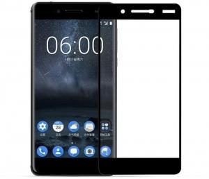 Folie sticla securizata Full Glue Nokia 7, Black