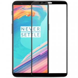 Folie sticla securizata Full Glue OnePlus 5T, Black