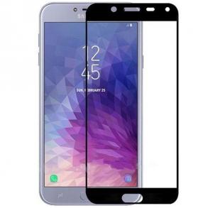 Folie sticla securizata Full Glue pentru Samsung Galaxy J4 (2018), Negru
