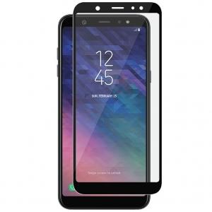 Folie sticla securizata Full Glue Samsung Galaxy A6+ (2018), Black