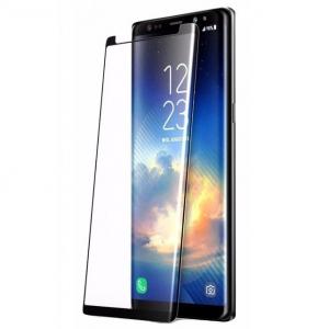 Folie sticla securizata curbata Full Glue Samsung Galaxy Note 9, Negru