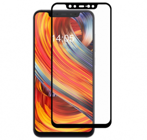 Folie sticla securizata Full Glue Xiaomi Mi 8, Negru