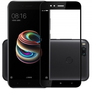 Folie sticla securizata Full Glue Xiaomi Mi A1, Black