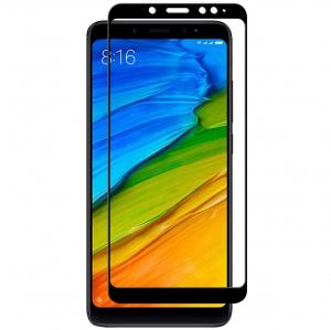 Folie sticla securizata Full Glue Xiaomi Redmi Note 5, Negru