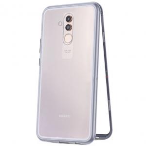Husa 360 Magnetic Case pentru Huawei Mate 20 Lite, Silver