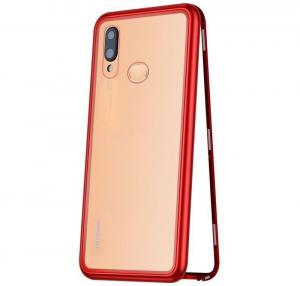 Husa 360 Magnetic Case pentru Huawei P20 Lite, Red